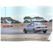 2014 Oz Gymkhana Round 1 - #35 Subaru WRX Poster