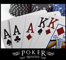 Poker Quotes by Illusiongraphic