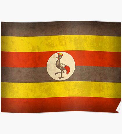 Uganda Flag Poster