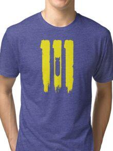 vault 111 Tri-blend T-Shirt