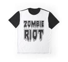 ZOMBIE RIOT by Zombie Ghetto Graphic T-Shirt