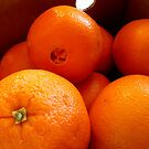 Navel Oranges In A Box by Stephen Thomas