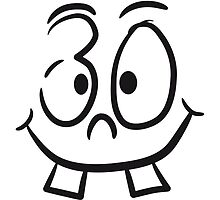 Face smiley 30 funny cartoon comic by Style-O-Mat