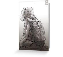 Daryl Dixon & Beth Greene - 01 Greeting Card