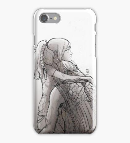 Daryl Dixon & Beth Greene - 01 iPhone Case/Skin