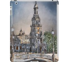 Plaza de Espana in Seville iPad Case/Skin