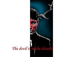 The Devil is in the Details Photographic Print