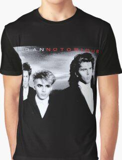 Duran Duran Notorious Album Vintage Graphic T-Shirt