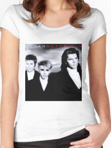 Duran Duran Notorious Album Vintage Women's Fitted Scoop T-Shirt
