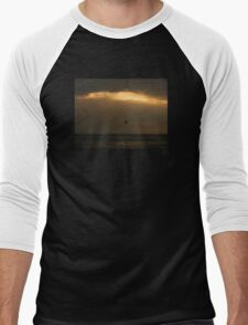 Ocean Sunset Men's Baseball ¾ T-Shirt