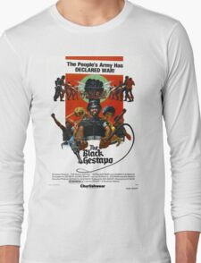 BLACK GESTAPO Long Sleeve T-Shirt