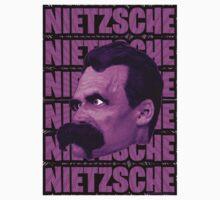 Nietzsche -  Face / Nietzsche by Rev. Shakes Spear