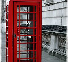 Westminster Phone Box by DavidWHughes