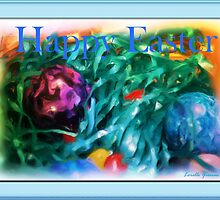 Happy Easter Card by Lorelle Gromus