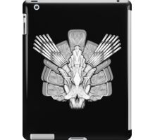 Monster Skull (black) - tablet cases iPad Case/Skin