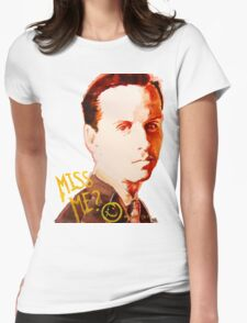 Miss me? - Jim Moriarty Womens Fitted T-Shirt