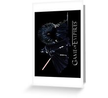 Game of Empires Greeting Card