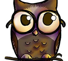 Wise Little Owl by lilamoon3