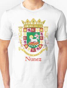 Nunez Shield of Puerto Rico T-Shirt