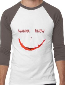 Wanna Know? Men's Baseball ¾ T-Shirt