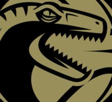Dino Crest Gold Sticker