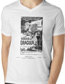 HORROR OF DRACULA Mens V-Neck T-Shirt