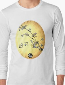 Japanese Blossom Long Sleeve T-Shirt