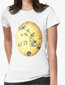 Japanese Blossom Womens Fitted T-Shirt