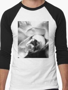 White Rose Men's Baseball ¾ T-Shirt