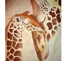 Giraffe by leanneclark167