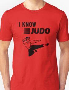 I Know Judo!!!  T-Shirt