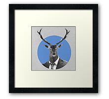 Mr. Deer Framed Print