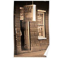 New Orleans - Bourbon Street Bar Poster