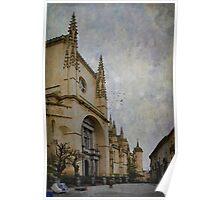 Walking by Segovia Poster