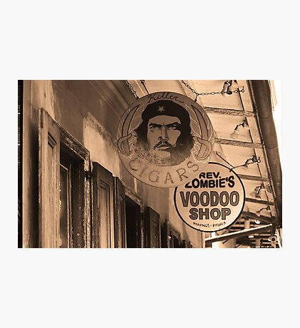 New Orleans Shops Photographic Print