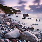 Chalk Cliffs Twilight by Michael Breitung
