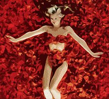 American Beauty Painting Print by Colin Bradley