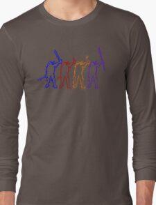 Four Ninja Long Sleeve T-Shirt