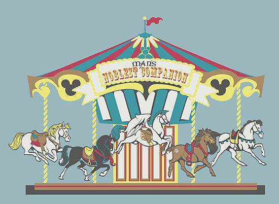 Man's Noblest Companion Carousel by Molly Williams