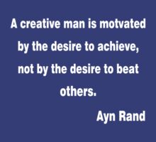 Ayn Rand Quote by Michael Sundburg