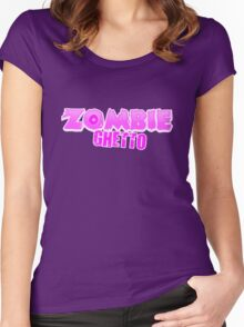 ZOMBIE GHETTO Women's Fitted Scoop T-Shirt