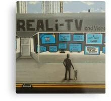 Reali-TV Metal Print