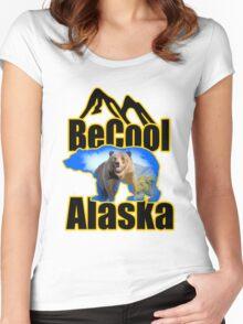 BeCool Alaska Women's Fitted Scoop T-Shirt