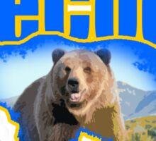 BeCool Alaska Sticker