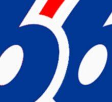 will 66 old skool Sticker