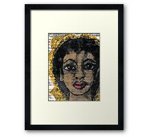 Ok... Who Really Defines BEAUTY? Framed Print