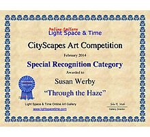 Special Recognition -Through the Haze Photographic Print