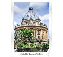 Radcliffe Camera Building Oxford Poster