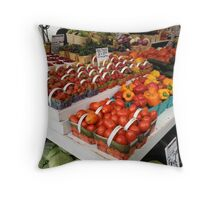 Local Delicacies Throw Pillow