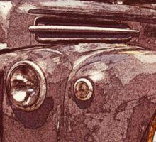 Rat Rod Flatbed 46 Ford Sticker